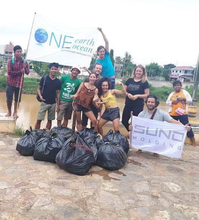 SUND Kooperation mit One Earth – One Ocean in Kambodscha